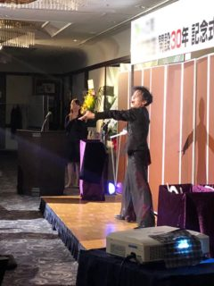 某社30周年記念式典に出演!